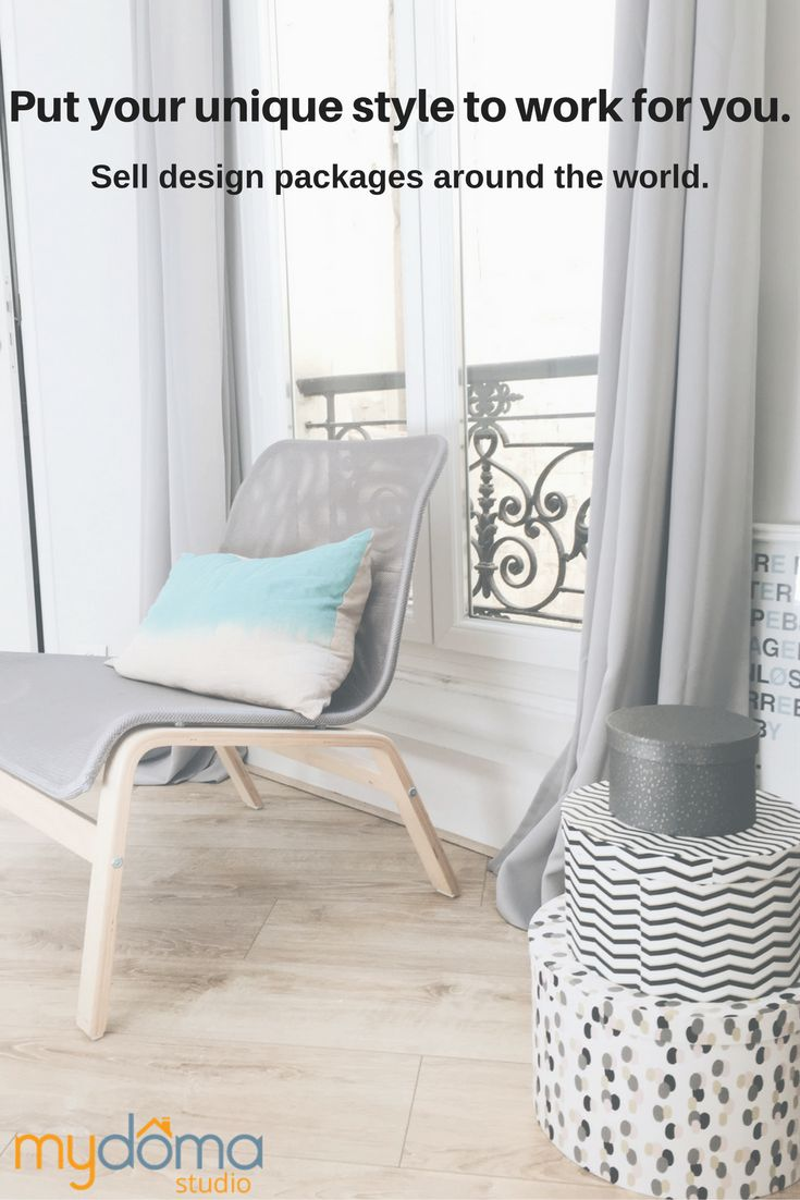 As An Interior Designer You Can Take Your Style And Package It Into A Bundle