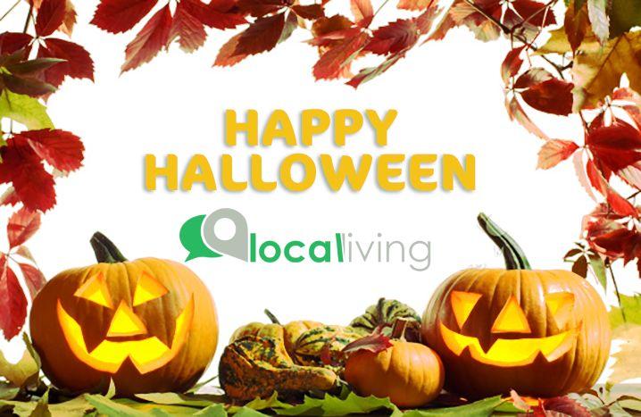 Buon Halloween a tutti. www.localivingapp.com #localiving #halloween #buonhalloween #happyhalloween #news #saldi #sconti #dolcettoscherzetto