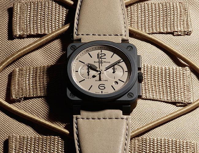 Bell & Ross's gorgeous Desert Type collection, a new $130,000 ultra-luxury…