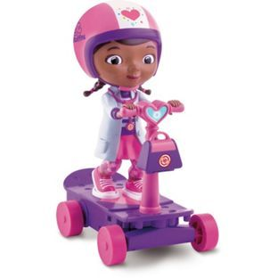 Buy Doc McStuffins Remote Control Scooter at Argos.co.uk - Your Online Shop for Doll playsets, Vehicles and playsets.