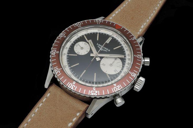 Longines Diving Chronograph available at Mondani Web #mondani #watch #reloj #longines