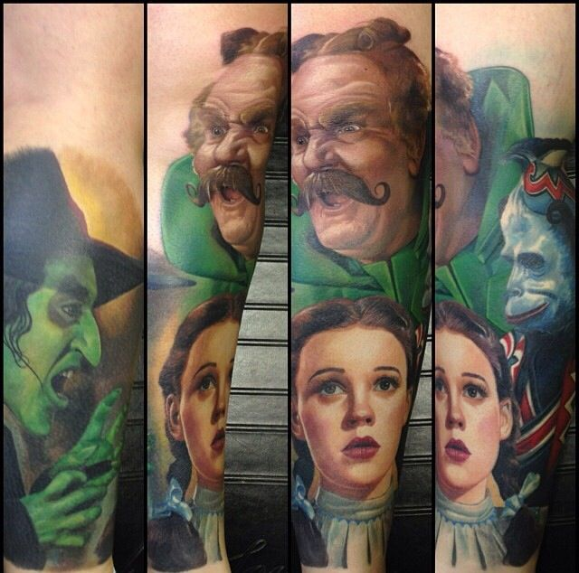 28 best images about my next tattoo a wizard of oz sleeve for Black anchor collective tattoo
