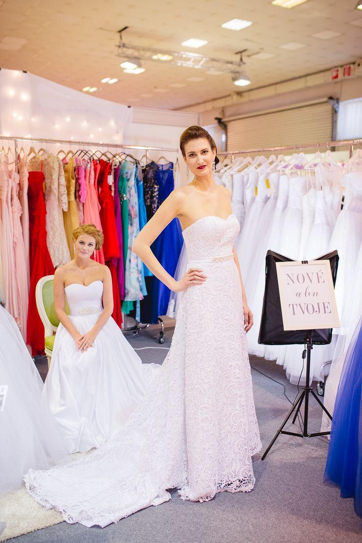 Čipkové svadobné šaty na mieru