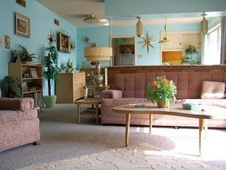 251 best Retro Living Rooms Dens images on Pinterest Vintage