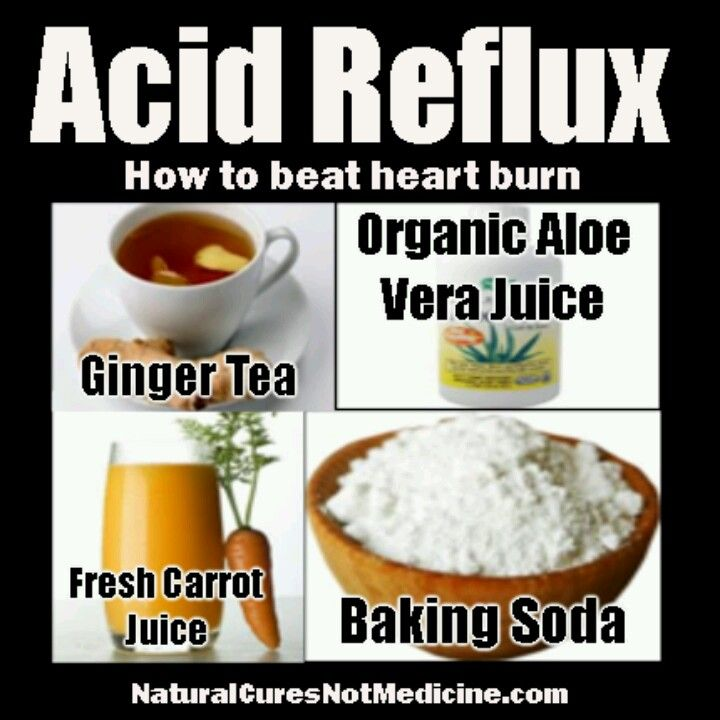 Foods To Cure Acid Reflux Naturally