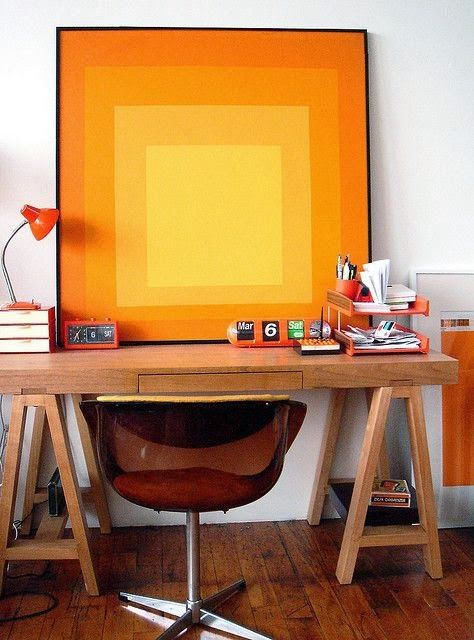 дневник дизайнера: Чертежный стол в интерьере домашнего офиса