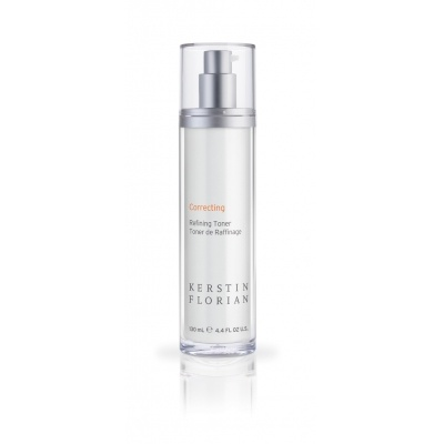 Refining Toner 100ml, £34.75 Natural soothing and purifying botanicals help to calm, balance and hydrate the skin. Salicylic and Phytic Acids gently resurface the skin as they sweep away excess oils.