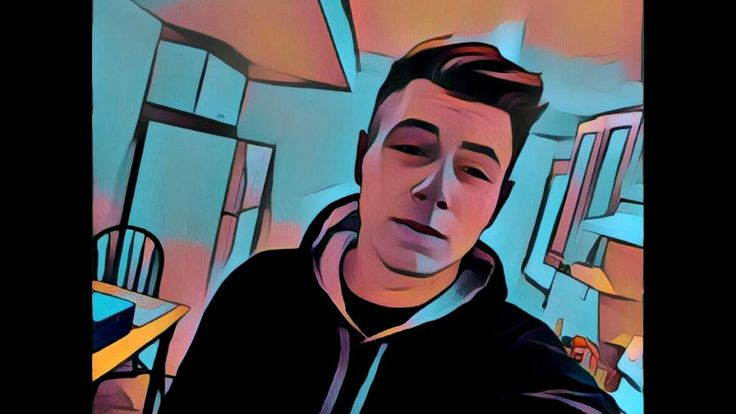 Used the Prisma app to make a pretty trippy video