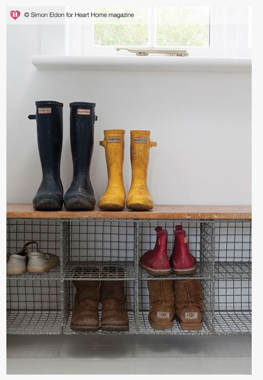 Under Bench Shoe Storage Inspired Handiwork Pinterest