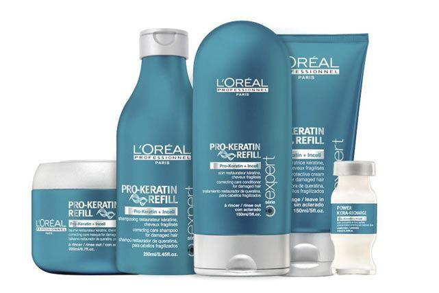 L'Oréal Professionnel presenta Pro-Keratin Refill, el primer tratamiento en salón con queratina-reestructurante.