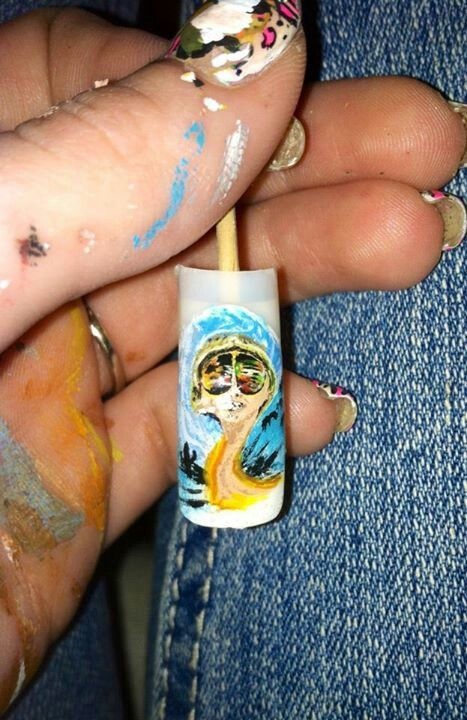 25 beautiful las vegas nails ideas on pinterest pretty nails fear and loathing in las vegas nail art prinsesfo Choice Image