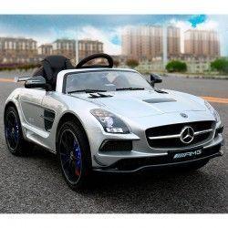 Mercedes-Benz SLS GRIS 12V coche bateria niños