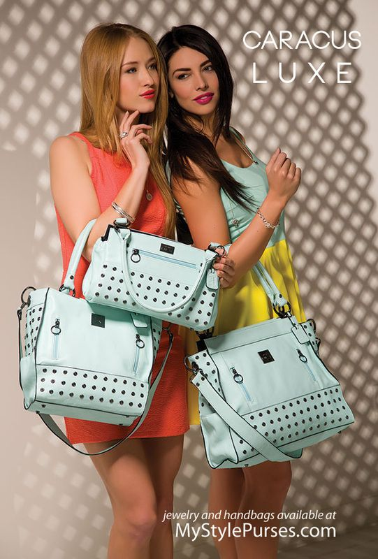 Miche Luxe Caracas Collection - 3 purse sizes - Mint Green Handbags | Shop MyStylePurses.com