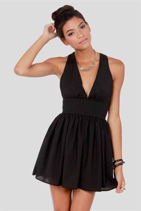 Cool short sexy black dresses