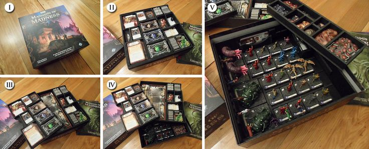 Mansions of madness image boardgamegeek box storage for Board game storage solutions