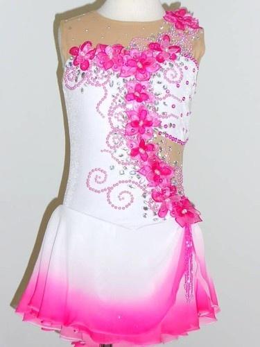 Lovely Figure Ice Skating Dress Size Girls Medium | eBay