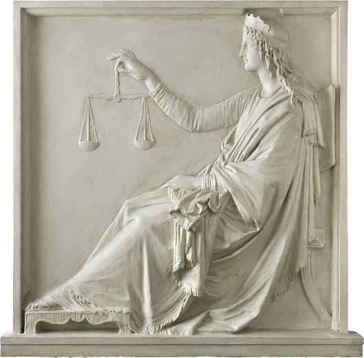 "loumargi: ""Antonio Canova (1st Nov. 1757 – 13th Oct. 1822), Justice, 1792 """