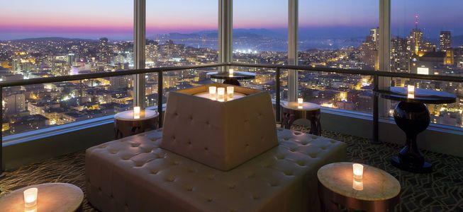 Cityscape Lounge With Images Hilton San Francisco Union Square San Francisco San Francisco Rooftop