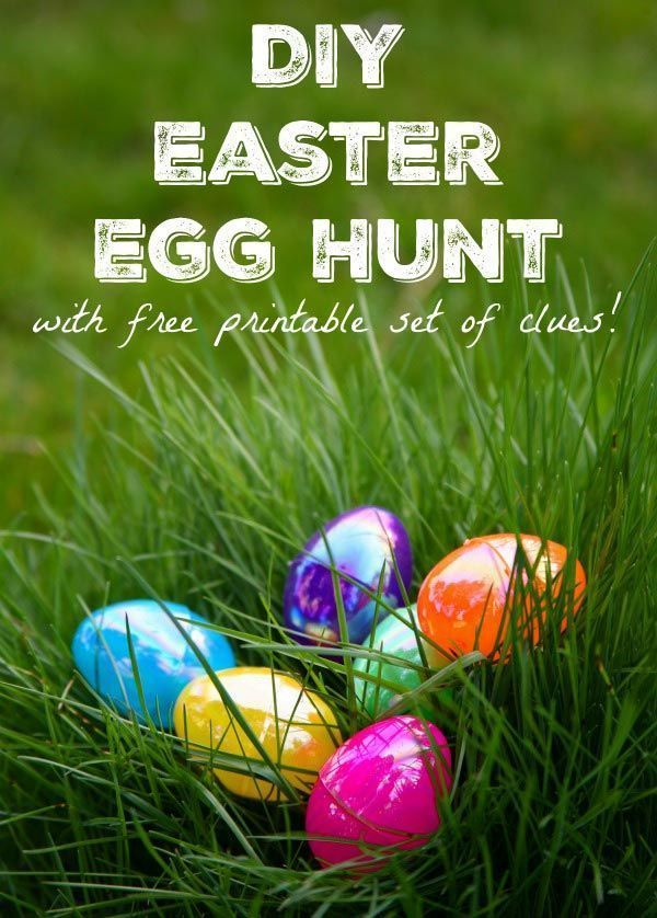 Easter Egg Hunt Clues With Free Printable In 2020 Easter Egg Hunt Clues Easter Eggs Easter Egg Hunt