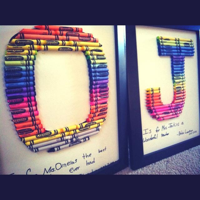 Pinterest Crafts For Teacher Gifts