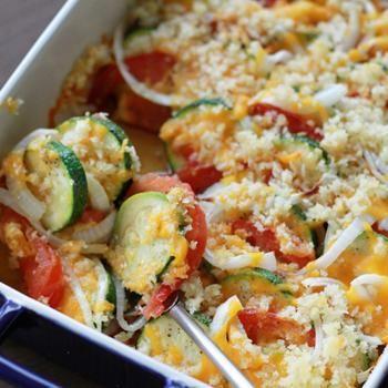 Zucchini and Tomato Bake Recipe - Southern Bite & ZipList
