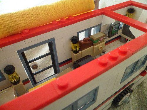 1000+ ideas about Lego Van on Pinterest  Lego ideas, Lego and Lego creations -> Tuto Table Lego
