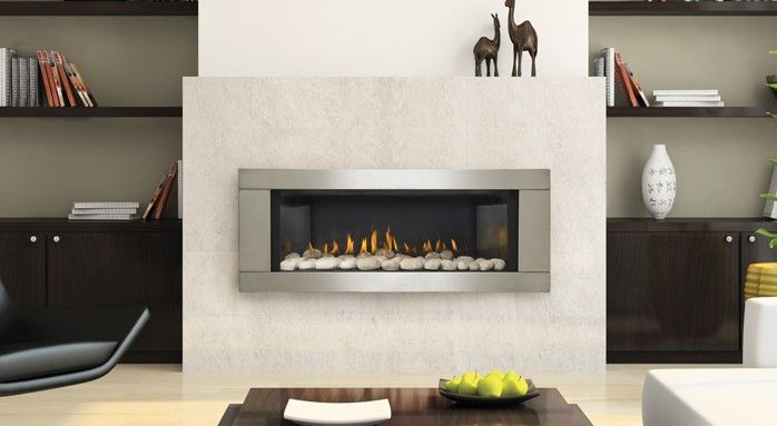 Best 25 contemporary fireplaces ideas on pinterest for Modern gas insert fireplace