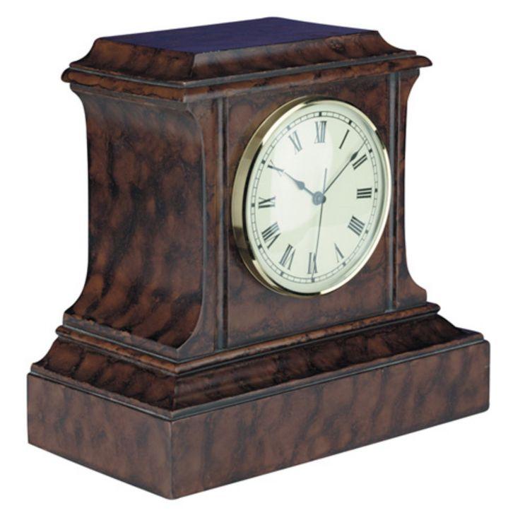 Square Mantel Clock - 0207-BWI