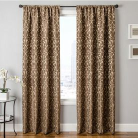 Love This Color U0026 Pattern! Allen + Roth Runnymeade 84 In L Floral Chocolate