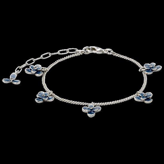 Armband silver plated, blue von: Pilgrim #Schmuck #Armband