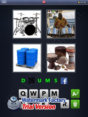 4 Pics 1 Word Answers: Level 2667