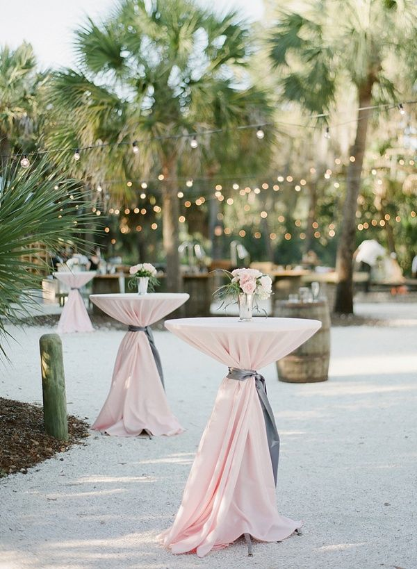 Pink linen and cafe lights | Rach Loves Troy