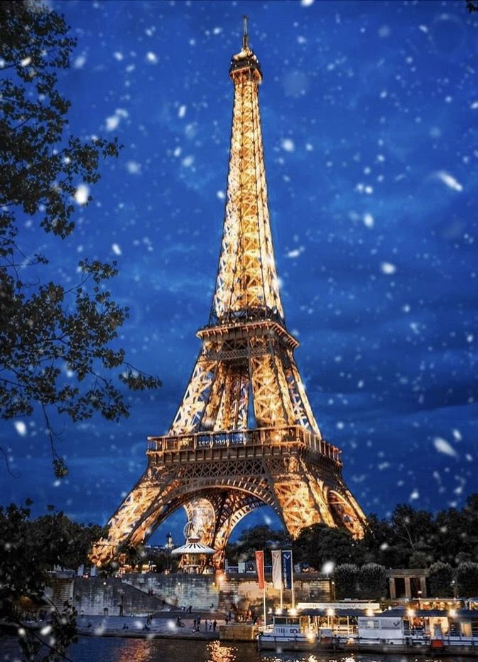 Winter In Paris Paris Tour Eiffel Paris France Photos Eiffel Tower