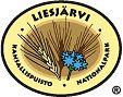 Liesjärven kansallispuiston tunnus - ruiskaunokki ja rukiin tähkät