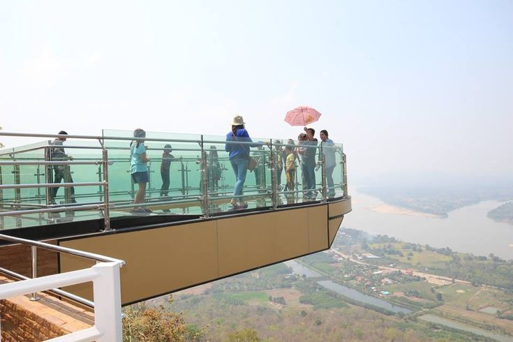 The Nong Khai Skywalk at Wat Pha Tak Suea has become a popular tourist destination, where visitors can see the Thai and Lao sides of the Mekong River and experience cool temperatures of early winter. The destination has grown in popularity, as the province approaches its tourism high season. For public safety and crowd management …