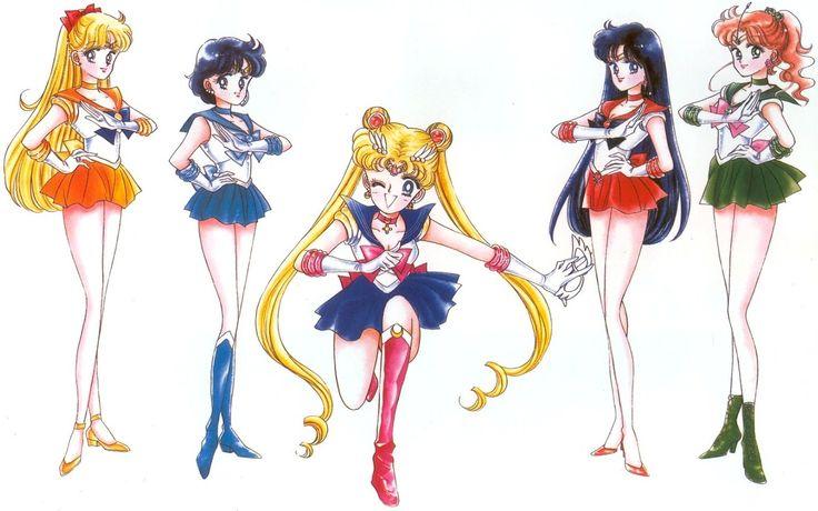 Los Prototipos de Sailor Moon y Cia.
