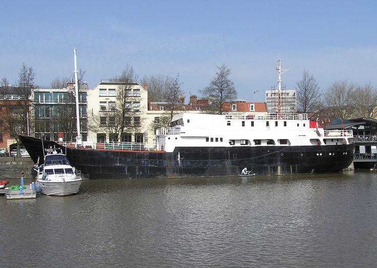 Thekla- yes. it'a a boat. Bristol