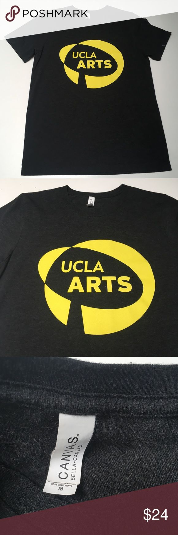 UCLA Arts Richard Serra Retires Logo Shirt Awesome shirt - too bad the logo changed Worked at Royce Hall for almost a decade - I got this shirt around 2010 Trusted quality and comfort  Please check measurements in pics for fit reference.     Smoke and pet free storage.  Happy to answer any questions    Thanks for looking Canvas Shirts Tees - Short Sleeve