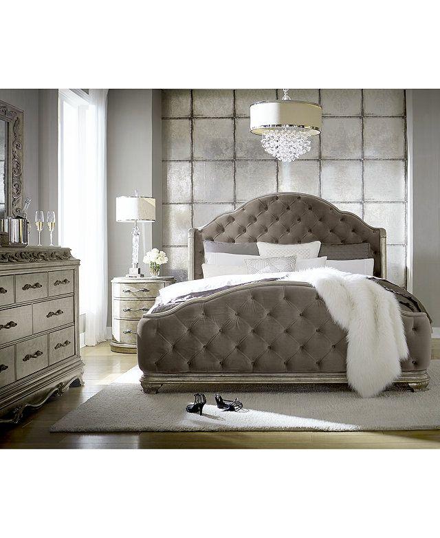 Furniture Zarina Bedroom Furniture 3 Pc Set King Bed Dresser Nightstand Reviews Furniture Macy S In 2021 King Bedroom Furniture Mattress Furniture Bedroom Furniture Beds