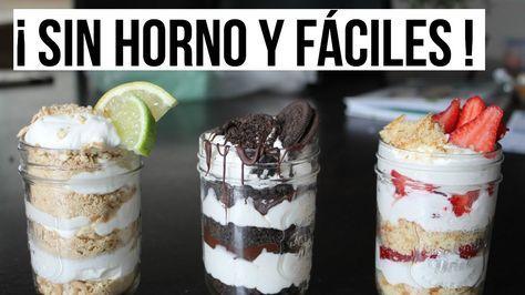 3 Postres Sin Horno Fáciles y Rápidos | RebeO - https://www.youtube.com/watch?v=qkacq-0AOL4