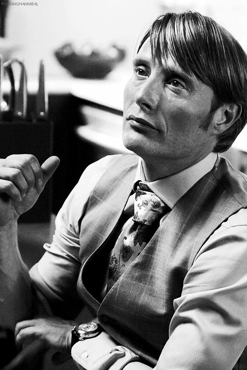 Mads Mikkelsen as Dr. Hannibal Lecctor