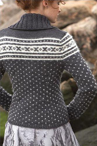 Ravelry: #03 Nordic Cardigan pattern by Shiri Mor