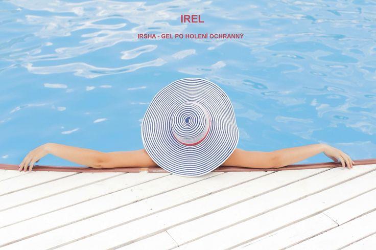 Chcete být u bazénu bohyně?   Připravte se na léto s předstihem. IRSHA - gel po holení pokožku chrání, ošetřuje a dokonale vyživuje. Výsledkem je hladká a jemná pokožka.   http://www.irel.eu/produkty/irsha-gel-po-holeni-ochranny-21