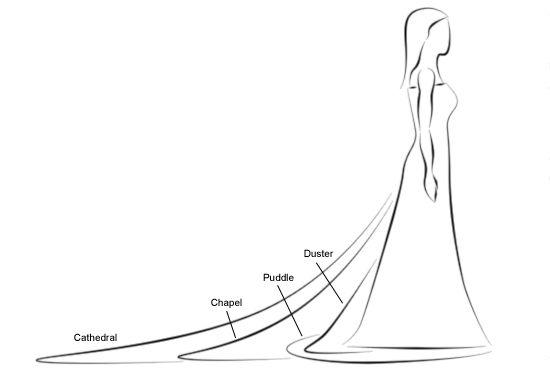 Wedding veils & trains