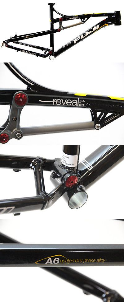 Bicycle Frames 22679: 2011 21 Fuji Reveal 1.0 26 Full Suspension Mtb Bike Frame Tapered Disc New -> BUY IT NOW ONLY: $483.99 on eBay!
