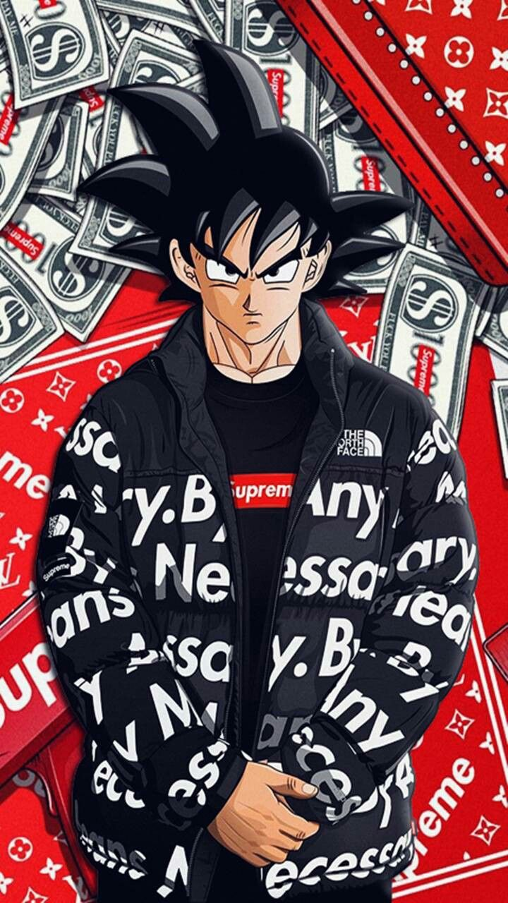 Supreme Goku Goku Wallpaper Dragon Ball Wallpapers Supreme Iphone Wallpaper