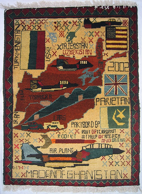 1000 Images About Afghan War Rugs On Pinterest Weapons
