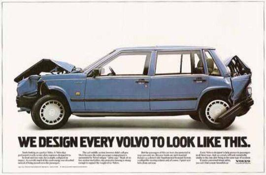 Volvo 740 advert