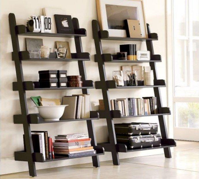 Cheap Ladder Shelf Black