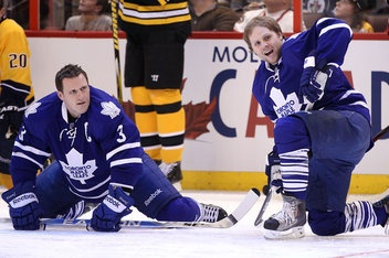 Dion Phaneuf and Phil Kessel - A great hockey player (kessel) and a ... I don't know what to say that's nice about phaneuf
